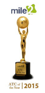 Cybersecurity Training Certification - Mile2 ATP of the year award