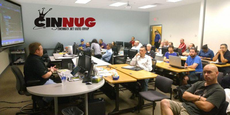 CINNUG Cincinnati .Net User Group at MAX Technical Training