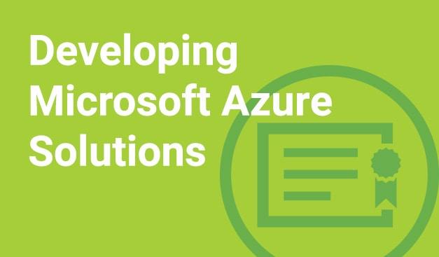 Developing Microsoft Azure Solutions - MAX Technical Training Cincinnati Ohio