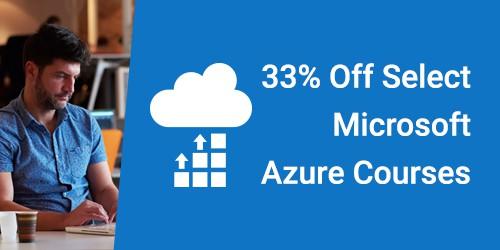 Microsoft Azure 33% Off