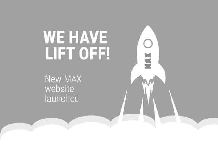 New website launched max technical training