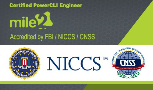 MILE2-Federal-Approval_Certified-PowerCLI-Engineer