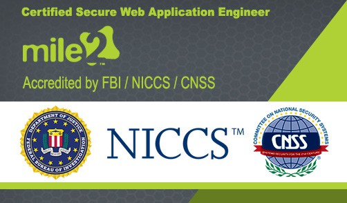 MILE2-Federal-Approval_Certified-Secure-Web-Application-Engineer