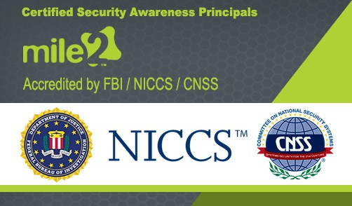 MILE2-Federal-Approval_Certified-Security-Awareness-Principals