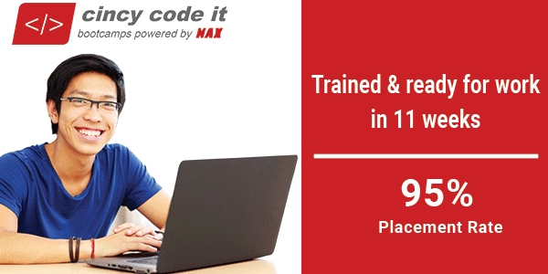 Coding Bootcamps - Cincy Code IT - MAX Technical Training