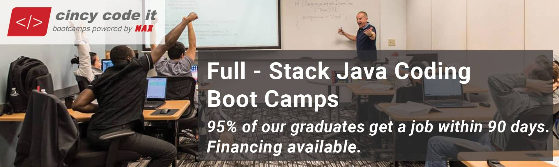 Coding Bootcamps in Java - MAX Technical Training, Cincy Code IT