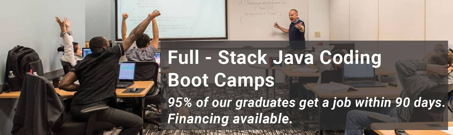 Full-Stack Java Coding Bootcamp - MAX Technical Training, Cincy Code IT