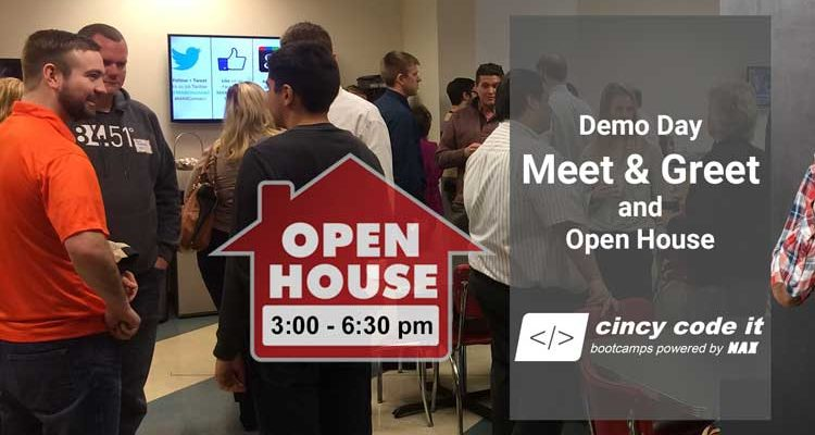 Coding Bootcamp Open House - MAX Technical Training, Cincy Code IT