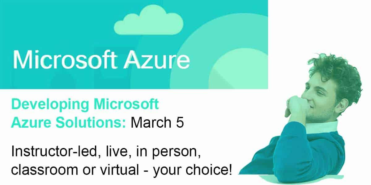 Microsoft Azure Training - MAX Technical Training