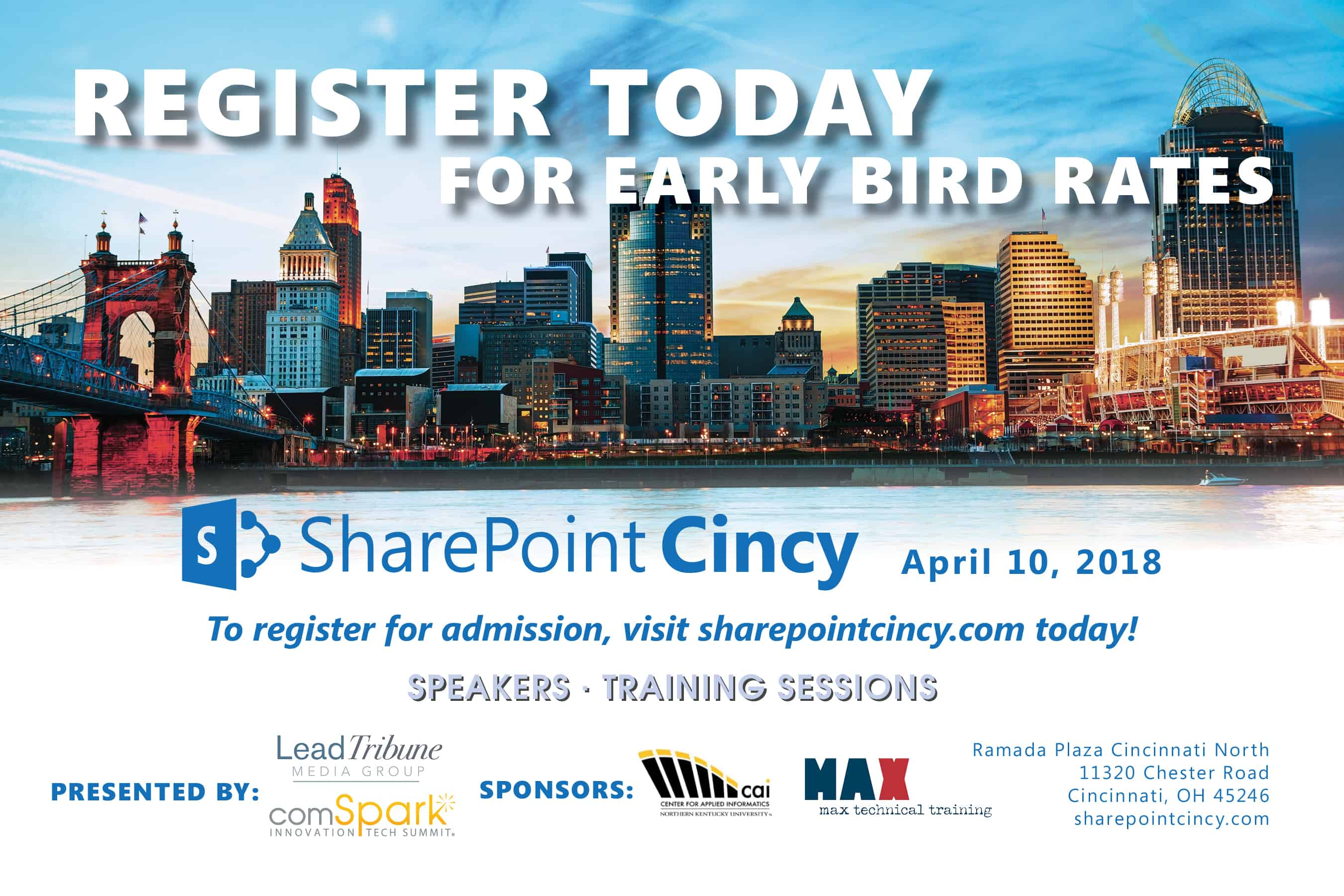 SharePoint Cincy 2018 Conference - MAX Technical Training
