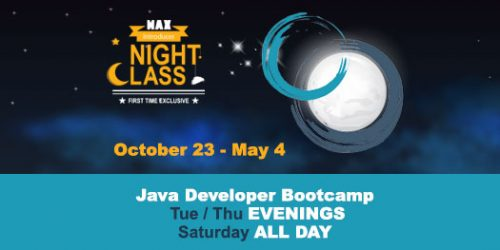 Java Coding Bootcamp Evenings - MAX Technical Training, Cincy Code IT
