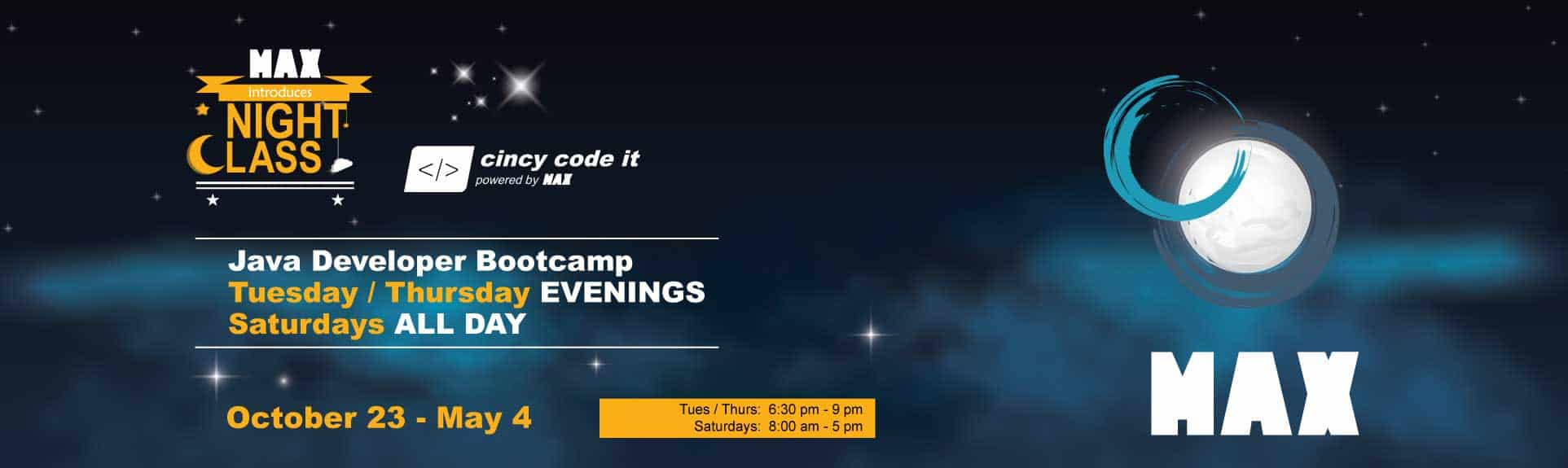 Evening / Weekend Software Development Bootcamp