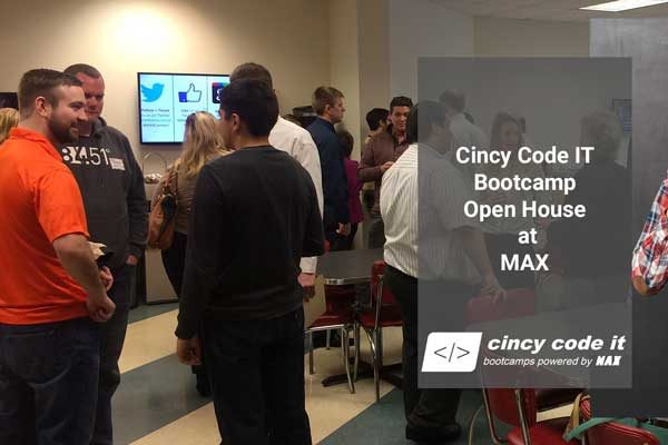 Java Bootcamp Open House Meet & Greet - MAX Technical Training, Cincy Code IT