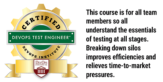 Certified DevOps Test Engineer Training - MAX Technical Training