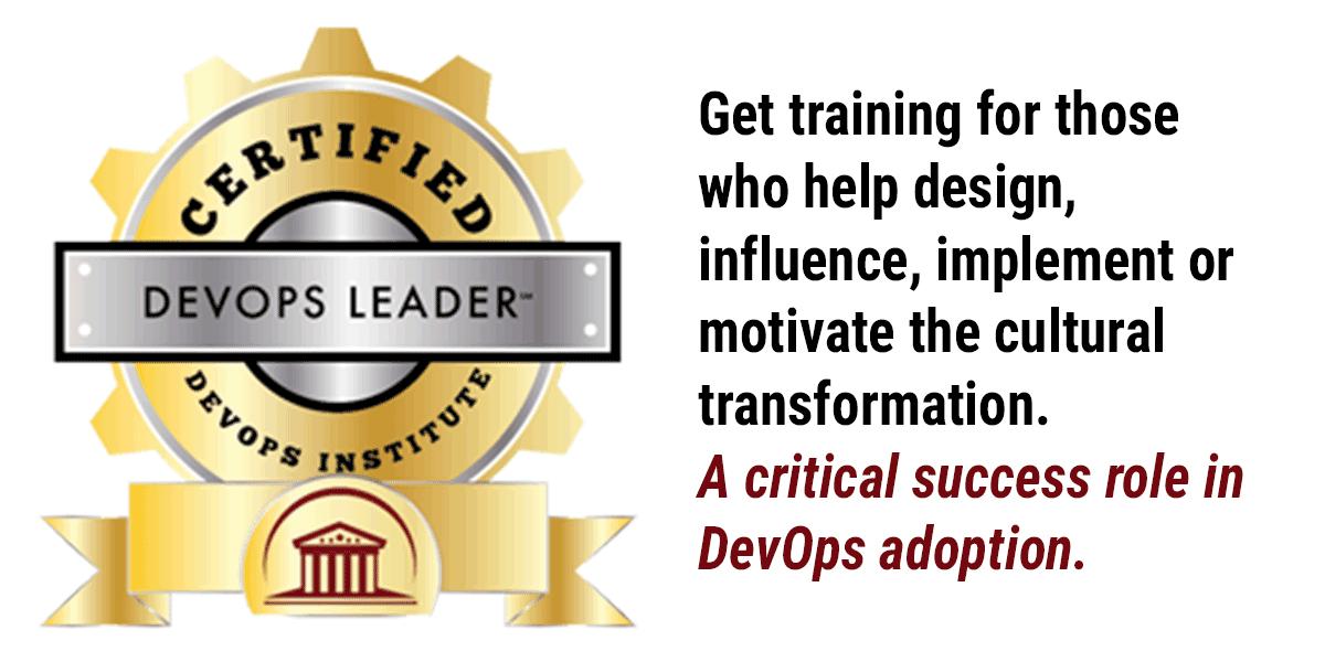 DevOps Leader Certification