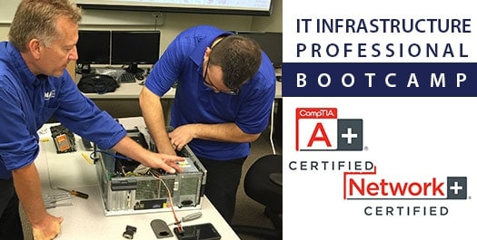 CompTIA A+ and CompTIA Network+ Bootcamp