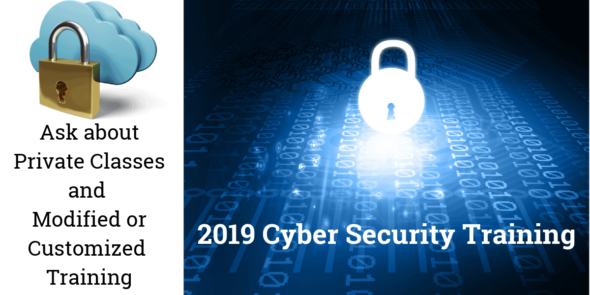 2019 Cyber Security Training_MAX Technical Training