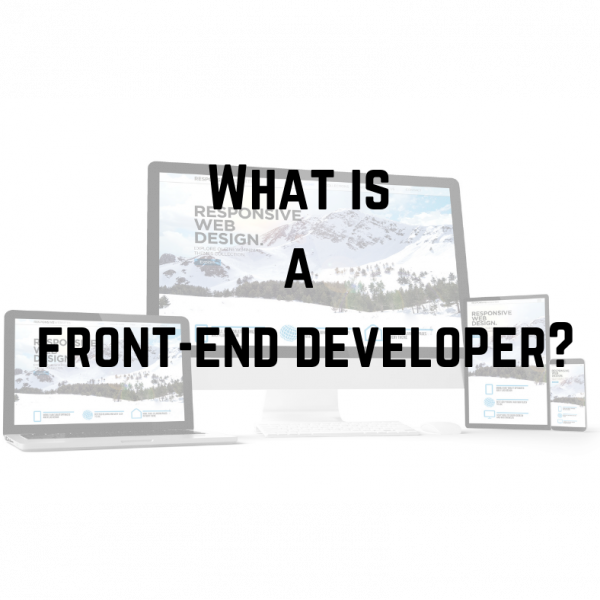 what is a front end developer_MAX technical training