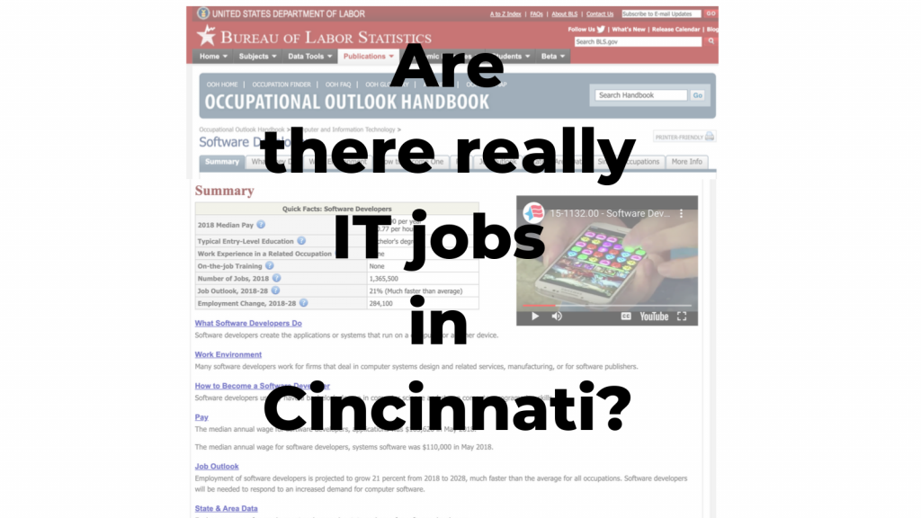 Are there really IT jobs in Cincinnati_MAX technical training