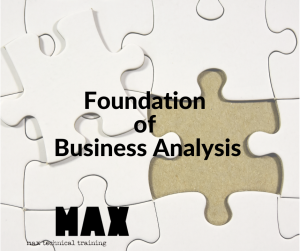 Foundation of Business Analysis