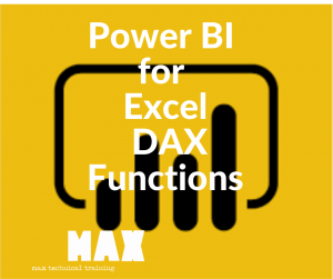 Power BI for Excel 2019/2016 Part 3 DAX Functions