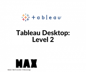 Tableau Desktop: Level 2